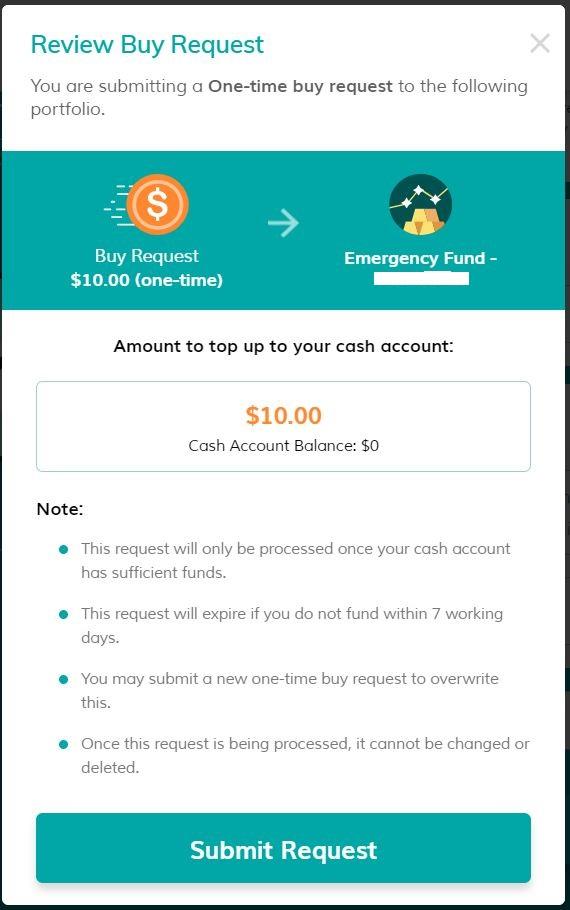 MoneyOwl Deposit Step 2