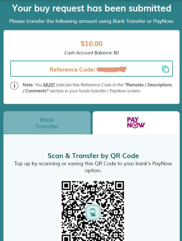 MoneyOwl Deposit Step 3b