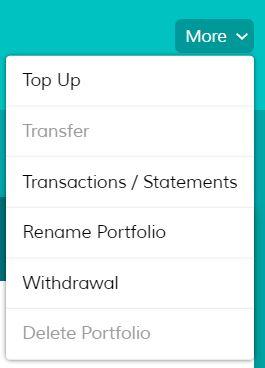 MoneyOwl Withdraw Step 1