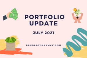 Read more about the article Portfolio Update – July 2021