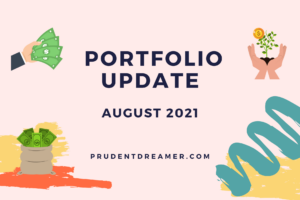Read more about the article Portfolio Update – Aug 2021